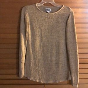 Chico's Tan Loose Knit Sweater-Size 2